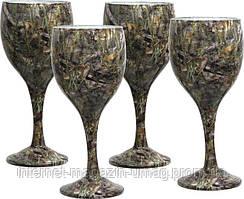 Набор бокалов Riversedge для вина Сamo Wine Glasses Bassofl 4 шт
