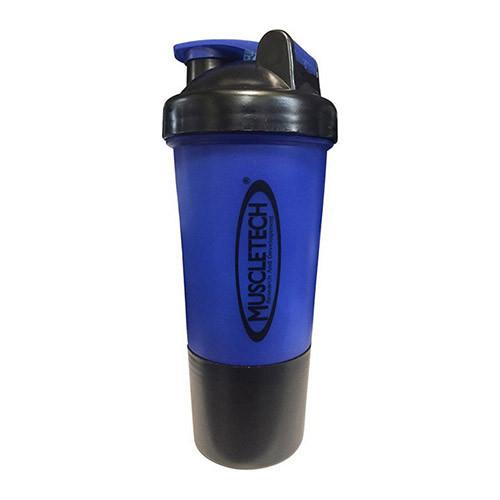 Шейкер MuscleTech - 2-х компонентный (500 мл) синий