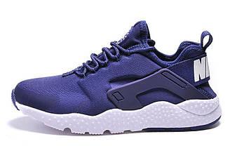Мужские кроссовки  Nike Huarache Ultra Navy|Мужские кроссовки найк хуараче ультра синие оригинал
