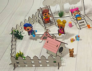 Набор мебели Дворик с беседкой (18 предметов), фото 2