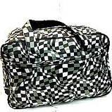 Универсальные дорожные сумки Украина (черный принт)30*46см, фото 5