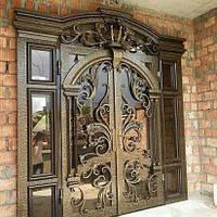 Кованая входная дверь. Эксклюзивная ручная ковка. Доставка по Украине.