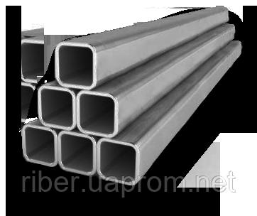 Труба нерж.  25х25 мм  1,0 мм, 304/304L, 180G, 6 м