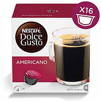 Кофе в капсулах NESCAFE Dolce Gusto Americano 16 шт. (Нескафе Дольче Густо Американо)