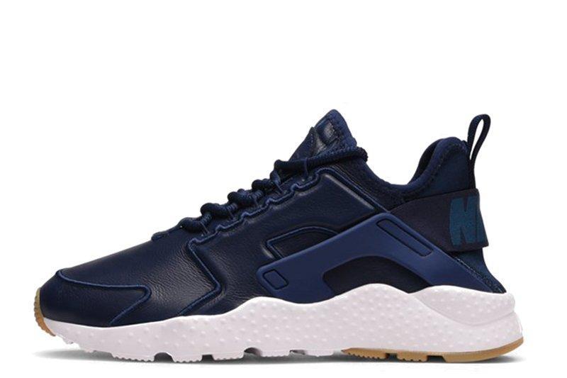 798feb8c Мужские кроссовки Nike Huarache Run Ultra SI Leather Blue | найк хуараче  ультра синие