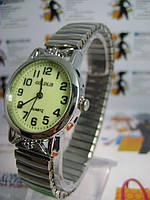 Женские часы Goldlis на браслете-резинка