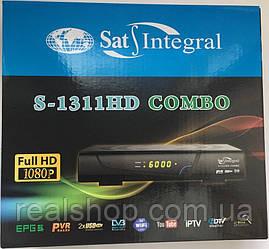 Sat-Integral S-1311 HD COMBO  S2/T2 ресивер + бесплатная прошивка!