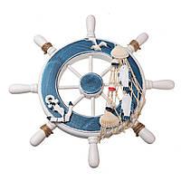 Деревянный Лодка Корабль Стальной Кольцо Колеса Настенная доска Nautical Пляжный Тропический Декор 1TopShop