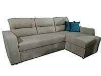 Угловой диван Эко Дрим 2,5 бежевый Элизиум, фото 1