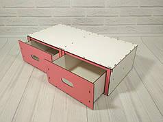 Box для игрушек с выдвижными ящиками