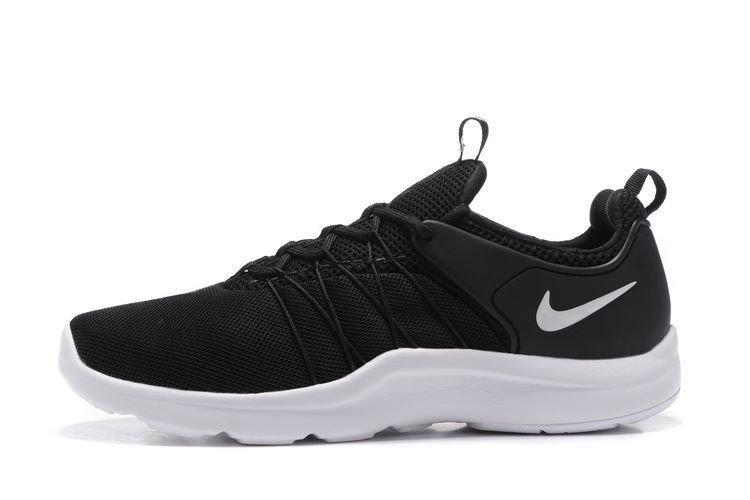 Оригинальные мужские кроссовки Nike Air Presto Darwin Black White| найк аир престо черные 44
