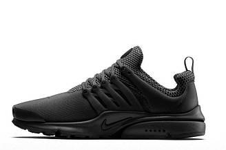 Мужские кроссовки  Nike Air Presto One Black| найк аир престо черные