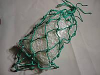 Сетка для бильярда классического «Эконом», зеленая (комплект 6 сеток) вместимость до трех шаров, фото 1