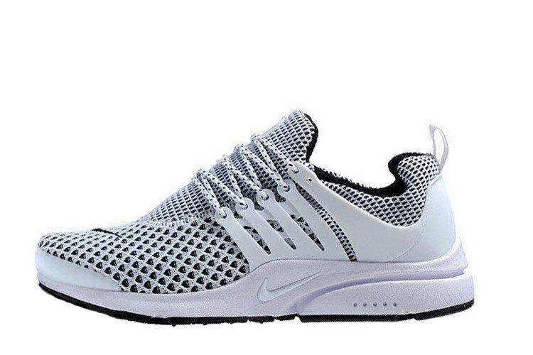 Оригинальные мужские кроссовки Nike Air Presto TP QS Flyknit White   найк аир престо белые 43