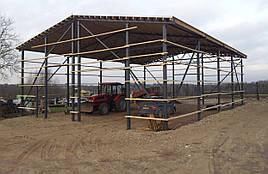 Строительство ферм,навесов,накрытий,реконструкция
