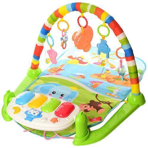 Развивающий коврик для младенца с пианино 698-54-54А-55-1