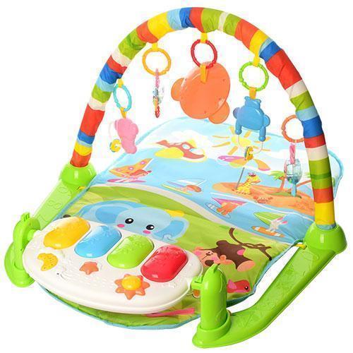 Развивающий коврик для младенца с пианино 698-54-54А-55-3
