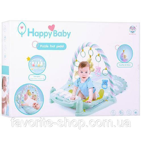 Развивающий коврик для младенца с пианино 698-56