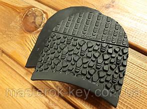 Набойки формованные Vibram/Вибрам Италия 5341 100*97*7мм цвет черный