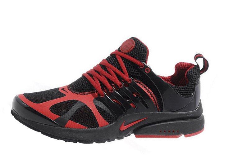399f8bf8 Мужские Кроссовки Nike Air Presto Black Red | Найк Аир Престо Черные ...