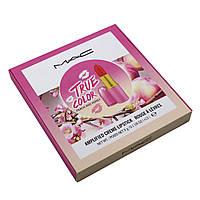 Набор помад Mac True Color Peach ahd Honey Creme Lipstick Rouge a Levres, фото 1