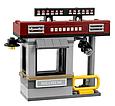 """Конструктор Bela 10629 аналог Lego The Batman """"Специальная доставка от Пугала"""" 221 дет, фото 3"""