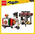 """Конструктор Bela 10629 аналог Lego The Batman """"Специальная доставка от Пугала"""" 221 дет, фото 7"""
