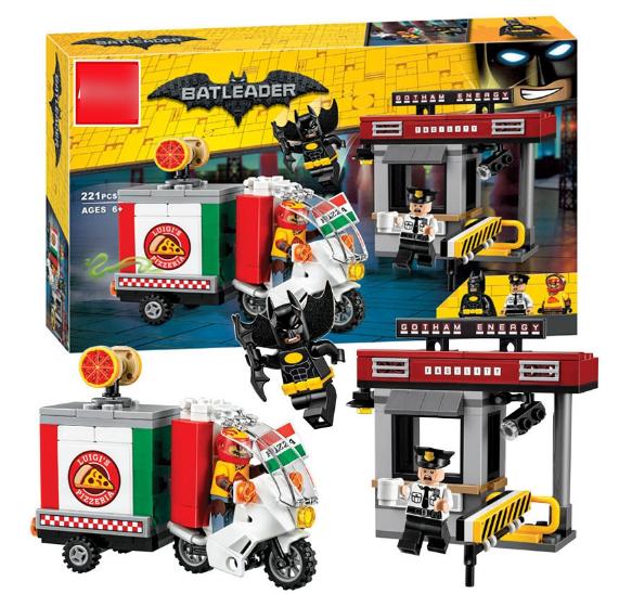 """Конструктор Bela 10629 аналог Lego The Batman """"Специальная доставка от Пугала"""" 221 дет"""