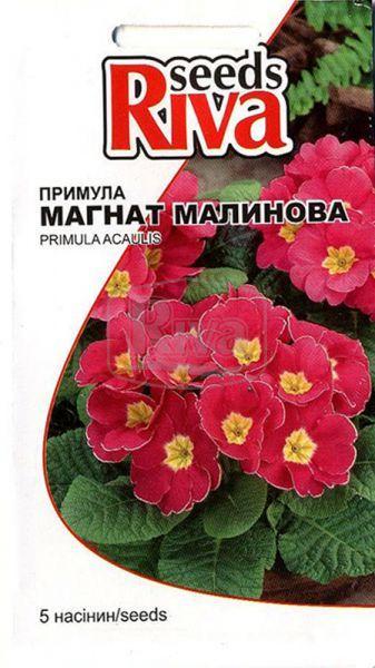Семена цветов Примула Магнат Малиновая, 5шт.