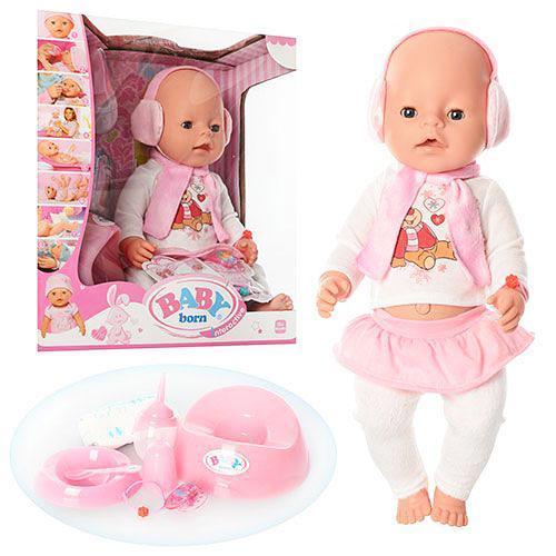 Кукла-пупс BL010B-S интерактивная, оригинал, 9 функций