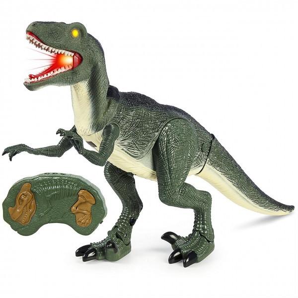 Динозавр на радиоуправлении RS6121A. 30*52 см. Ходит, крутит головой.