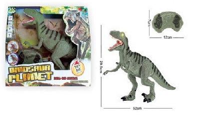 Динозавр на радиоуправлении RS6126A. 30*52 см. Ходит, крутит головой.