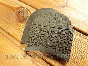 Набойки формованные Vibram/Вибрам Италия 5341 100*97*7мм цвет коричневый