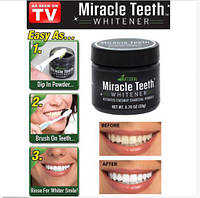 Отбеливатель зубов Miracle Teeth Whitener, черная зубная паста, натуральная зубная паста. отбеливатель зубов