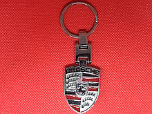 Брелок металлический для авто ключей Porshe Порше