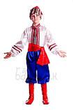 Детский карнавальный костюм для мальчика Козак 122-152р, фото 3