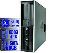 Системный блок HP 2 ядра 2.8GHz/4Gb-DDR3/HDD-250Gb