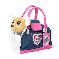 Собачка Кикки в сумочке, интерактивная игрушка 22 см, M 3218-N-UA