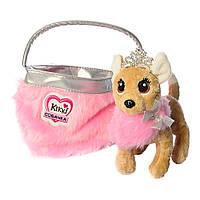 Собачка Кикки в сумочке, интерактивная игрушка 22 см, M 3481-N-UA, фото 1
