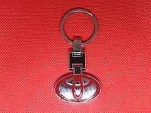 Брелок металлический для авто ключей Toyota Тойота