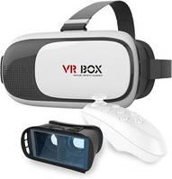 Очки виртуальной реальности VR BOX с пультом управления (2 цвета)