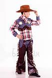 Детский карнавальный костюм для мальчика Ковбой 110-152р, фото 2