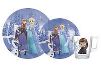Disney Frozen Winter Magic Набор для детей - 3 пр Luminarc N5277