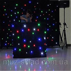 LED ШТОРА RGBW 15 ПРОГРАММ, 8 КАНАЛОВ. РАЗМЕР 2,2 М X 4 М (возможны любые размеры)