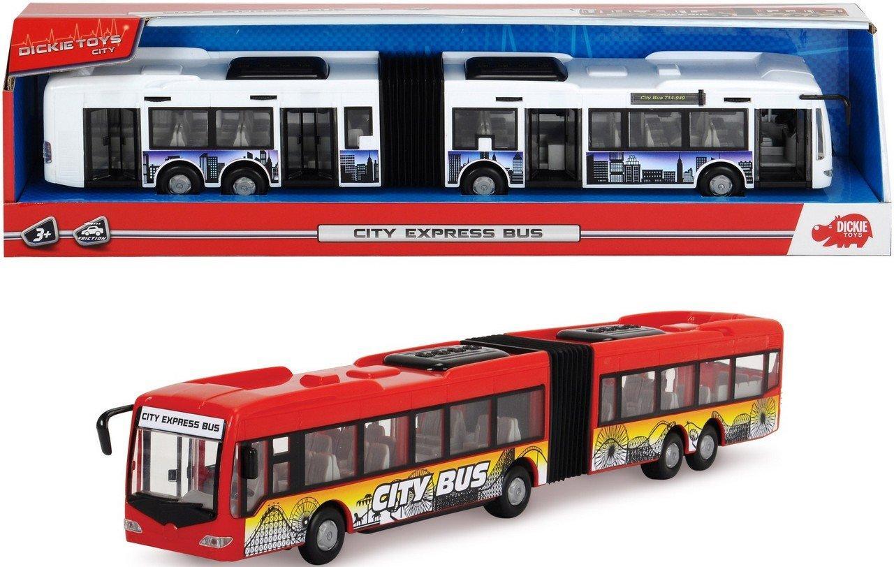 Aвтобус с функциональным элементами City Express 46 cm, DICKIE 3748001