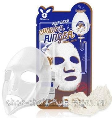 Тканевая маска для лица ELIZAVECCA Deep Power Ringer Mask Pack. EGF - (Epidermal Growth Factor)