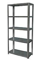 Стеллаж металлический 1800*900*400 мм для склада, хозяйства, гаража, балкона, подвала