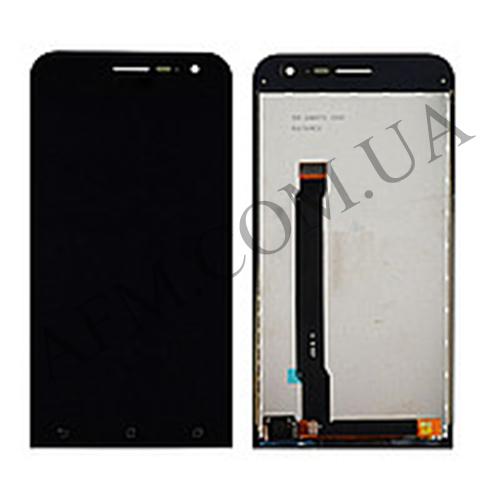 Дисплей (LCD) Asus ZenFone 2 (ZE500CL) с сенсором чёрный