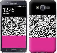 "Чехол на Samsung Galaxy J7 J700H Шкура леопарда v3 ""2723c-101-328"""