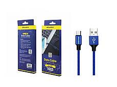 USB кабель Awei с разъемом MicroUSB 1 м., фото 3